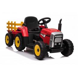 Traktor na Akumulator z Przyczepką XMX611 Czerwony