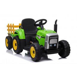 Traktor na Akumulator z Przyczepą XMX611 Zielony