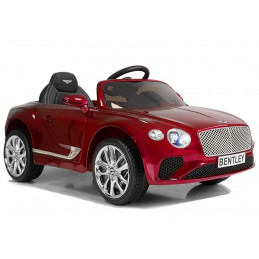 Auto na Akumulator Bentley Czerwony Lakierowany