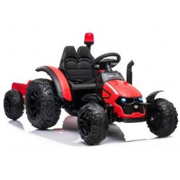 Traktor na akumulator z Przyczepą HZB-200 Czerwony