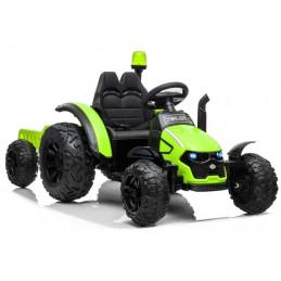 Traktor na akumulator z Przyczepą HZB-200 Zielony