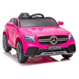 Auto na Akumulator Mercedes GLC Coupe Różowy