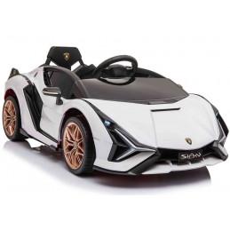 Auto na akumulator Lamborghini Sian Biały