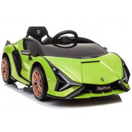 Auto na akumulator Lamborghini Sian Zielony