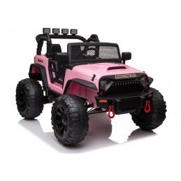 Auto na Akumulator JC666 Różowy