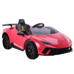 Auto na akumulator Lamborghini Huracan Czerwone