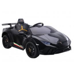 Auto na akumulator Lamborghini Huracan Czarne