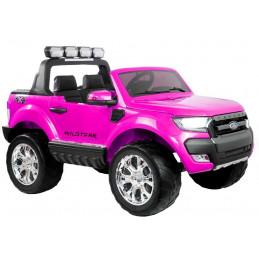 Auto Na Akumulator Ford Ranger 4x4 Różowy LCD
