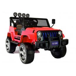 Auto na Akumulator S2388 Jeep Czerwony 4x45W